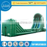 Golden Supplier TOP inflatable zip line with CE certificate