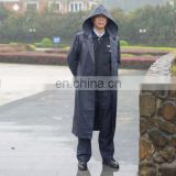 Men's outdoor long waterproof Raincoat
