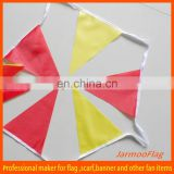 outdoor paper bunting flag banner for advertising
