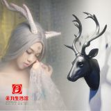 Creative Nordic style retro simulation animal deer head wall hanging decorations indoor crafts decoration wholesale market