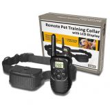 Romote Pet Training Collar With LCD Display