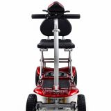 telecontrol Electric folding mobility scooter Folding and unfolding automatically by button
