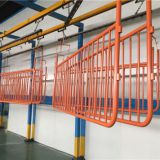 Steel control barriers