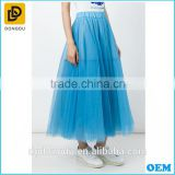 oem elegant woman suit summer prom midi Tulle skirt cheap tutu skirt wholesale the most beautiful ball skirt for girls