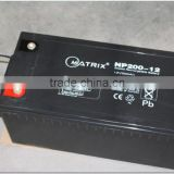 sealed deep cycle gel 12v 200ah solar inverter battery