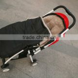 hot sales factory supply new design baby light weight comfortable sheepskin sleeping bag