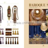 Baroque style--curtain tassel fringe bead tassel lace trimmings
