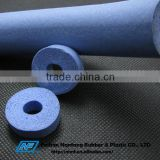 Solid soft foam rubber tube for machine