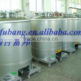 Stainless steel fuel diesel storage tanks containers with polyurethane foam Insulating layer