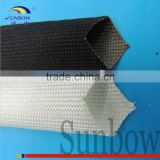 High Temperature Resistant Flexible Flame Retardant E-glass Uncoated Fiberglass Sleeving