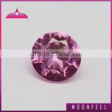 1.25# brilliant cut pink ruby gemstone
