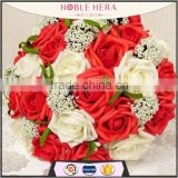 Romantic Bridal Bouquets Artificial flower bouquet                                                                         Quality Choice