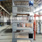 Foldable Warehouse Wire Mesh Crate Storage Container