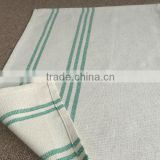 Hot Sale Promotional Plain Linen Tea Towel cleaning cloths used hotel linen lunch towel glass towel napkins duster