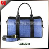 Fashion sports duffle bag leather duffle bag for travel and promotional duffle bag with high quality fast delivery