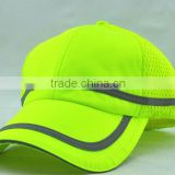 Custom 100% Polyester Mess Reflective Baseball Cap for Team or Working