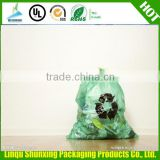 white biodegradable fragrant rubbish bag on roll garbage bag on roll