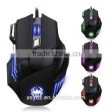 4000 DPI 6D buttons led back light mouse wired gaming mouse USB wired game mice for laptops desktop computer mouse