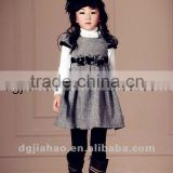 HOT!The Newest beautiful baby woolen dress