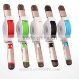 REYON colorful 2 in 1 flat retractable usb cable for Iphone ,ipad, samsung , htc from shenzhen