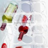 GH-RZ271 Strict request quanlity custom made nice looking acrylic display rack for red wine