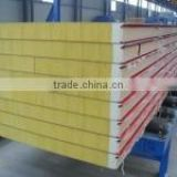 shipping container house material lightweight heat resistant wall foam protection / rockwool / roofing tile sandwich panels