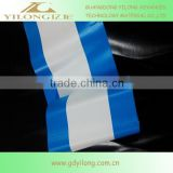 Knife scratching type SGS, CE Opaque and colored stripe awning fabric - ad materials with high weather resistance