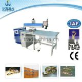 New Product AD Laser Welding Machine on Iron Chain for advert industry with High quality