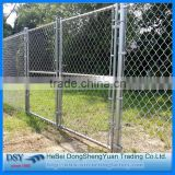 Used Chain Link Fence Panels /Cheap cattle panels Used high quality galvanized chain link wire mesh fence for sale