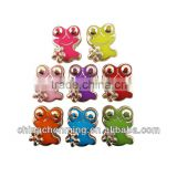 colorful acrylic decoration frog bead