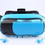 Newest Fashion! 3D VR BOX Glasses both Bluetooth and Earphone Convenient for mobile Visual Enjoyment