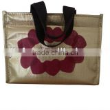 High quality promotion polyester frozen food cooler bag                                                                         Quality Choice