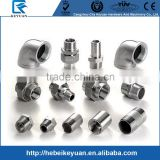 Stainless Steel Screwed Plumbing Pipe Fittings Male and Female End Connection