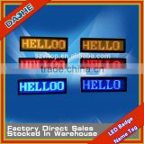 High Brightness LED Name Badge Card 5V LED Name Tag LED Display No Need Driver 12 Modes DisplayOne Set                                                                         Quality Choice