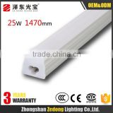 1500mm/5ft t5 led integrated 25w 220v led tube lamps with 3 Years WarrantyApplicable to supermarket shopping