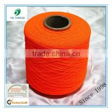 100% Polyester Spandex Rubber Yarn for Shoes Upper
