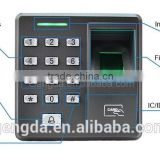 cheap Fingerprint & RFID door access control with time attendance system price