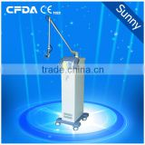 Mole Removal CL40F Fractional Co2 Laser Skin Resurfacing Laser Equipment Co2 Fractional(CE) 8.0 Inch