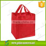 Recycled reusable customized nonwoven shopping bag wholesale/morocco fabric ship pp non woven bag