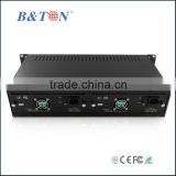OEM Factory 2U 19 inch rack mount chassis for Media Converter