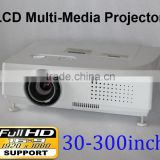 XGA 3LCD Projector, 7500 Lumens, 12000:1 Contrast Ratio, 1024 x 768 Native Resolution support 1920*1080