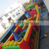 Colorful giant inflatable obstacle/inflatable obstacle course for fun/inflatable combo for kids play