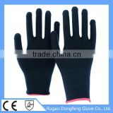 High Quality Knitted Polyester Industrial Safety High Impact Gloves