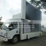 YEESO Outdoor LED Advertising Truck Equipped with screen lifting system and multimedia system:YES-V8