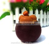 Mendior Thai Mangosteen shaped soap fruit essential oil face soap whitening moisturizing anti-wrinkles OEM custom brand