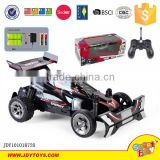 New 1:20 4CH rc car with 3D lights and voice charge and battery remote control toy for kids