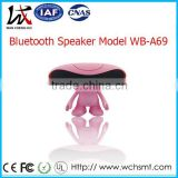New Style Small Bluetooth Speaker Wireless Mini Sound Box Speaker Fun Design Doll Expression Follower