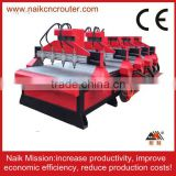 4 bearing motor double heads combination woodworking machines