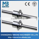 lead screw 8mm 10mm milled thread screw customised trapezoidal screw