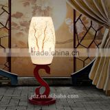 Valentine's Day Gift Mother day's Gift AntiqueTable Lamp Jingdezhen Ceramic Wood Craft Bedside LED E27 220v 110v